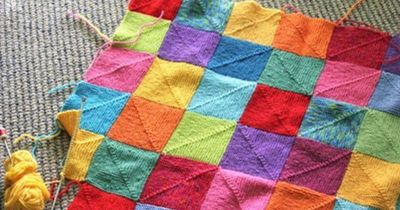 Peggy Square Knitting Patterns : Knit blanket http://www.ravelry.com/patterns/library ...