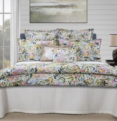 Selvaggia Printed Bedding by Dea Linens $150.00