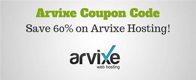 Get Arvixe coupon, coupon code for shared, reseller, VPS and dedicated hosting. Maximum discount guaranteed with special Arvixe promo codes.
