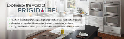 Frigidaire was the first to invent an electrical, self-contained refrigerator. We at Appliance Repair Medic can provide a variety of Frigidaire appliance repair services including.  Frigidaire Washing Machine Repair  Frigidaire Dryer Repair  Frigida...