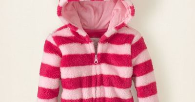 baby girl - plush fleece hoodie | Children's Clothing | Kids Clothes | The Children's Place