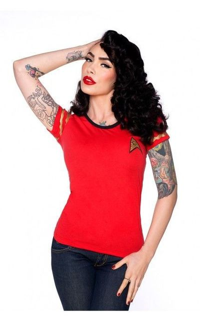 Pretty sure this was made with me spacifically in mind. -Starfleet Red Shirt