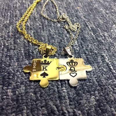 King Queen Crown Jigsaw Puzzle Connecting Couples Jewelry Set https://www.gullei.com/king-queen-crown-jigsaw-puzzle-connecting-couples-jewelry-set.html