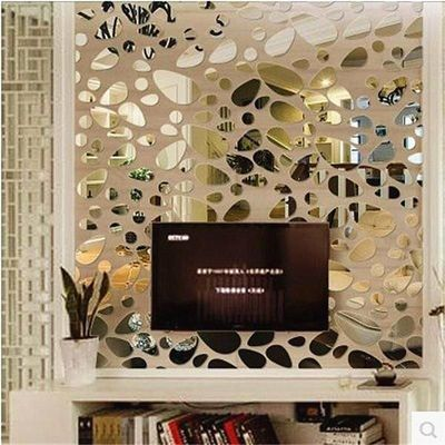 12pcs/set 3D Mirror Wall Stickers $15.99