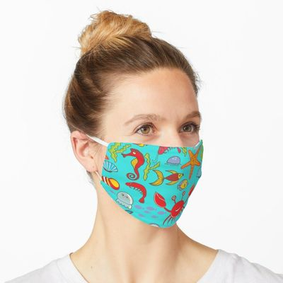 Under the Sea facemask