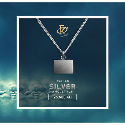 Beautiful reminder of your faith, this necklace will keep it close to your heart.