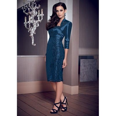 Generous A-line Sweetheart Beading Ruching Knee-length Taffeta Mother of the Bride Dresses - Dressesular.com