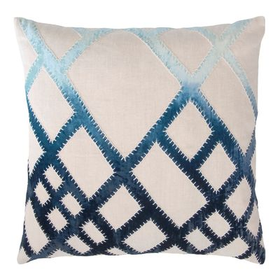 Twilight Net Velvet Appliqué Pillow by Kevin O'Brien Studio $293.00