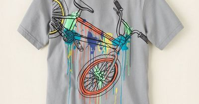 boy - graphic tees - short sleeve - neon bike graphic tee | Children's Clothing | Kids Clothes | The Children's Place