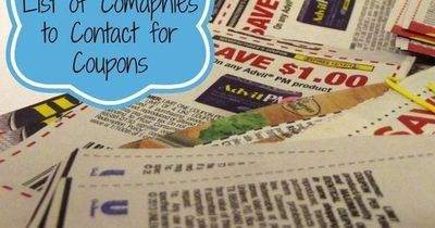 Coupons can help you save a whole lot of money on groceries, and the more you can get, the better. This master list of companies will send you coupons for your groceries, and all you need to do is.