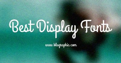 Best Display #Fonts for Designers