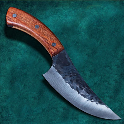 Hunting Knife High Carbon Steel Chef Kitchen Knife Camping Outdoor BBQ Butcher Tools $28.70