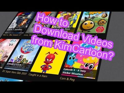 This post illustrates 3 different foolproof solutions to Kimcartoon cartoons download.