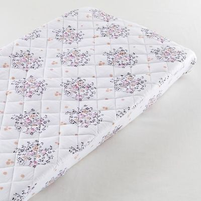The Land of Nod | Who's Hoo Changer Cover in Changer Pad Cover