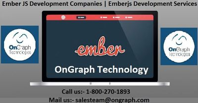 Ember JS Development Companies | Emberjs Development Services  OnGraph Technology is one of the best software development companies specialized in Emberjs development services. Hire EmberJS Developers Company India and Usa from OnGrapg, guarantees quali...