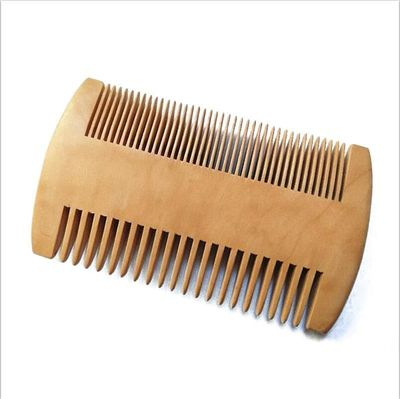 Wooden Double sided beard comb $8.99