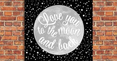 I Love You to the Moon and Back Printable by shopCharmingDesigns, $5.00
