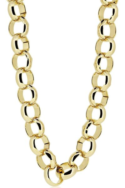 Luxury 24K Gold Layered Heavy Belcher Bling Chain Necklace £53.70