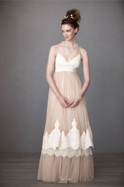 Used BHLDN BHLDN Blushing Crinoline Sheath Size 6 Size 4 for $480. You saved 52% Off Retail! Find the perfect preowned dress at OnceWed.com.
