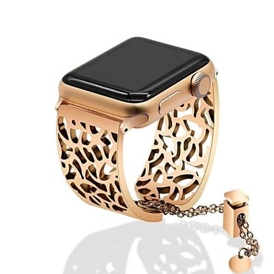 Stainless Steel iWatch 38mm 40mm/42mm 44mm Series 1 2 3 4 Bangle $42.99
