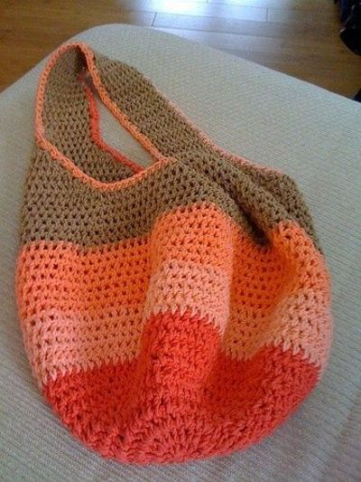 Crochet market bag pattern. / crochet ideas and tips - Juxtapost