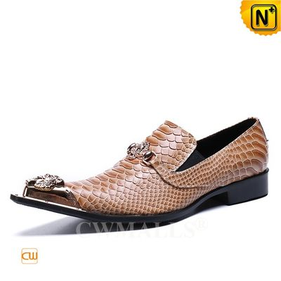 Custom Made Men Embossed Leather Dress Shoes CW719032   CWMALLS.COM