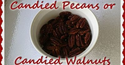 A healthier recipe for candied walnuts or pecans, toasted with unrefined coconut sugar and coconut oil. Delicious flavor, crunch, protein and heart-healthy omega-3 fatty acids for salads or snacks.