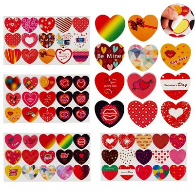 600 Labels Heart Stickers Wedding Day Decorative $18.90