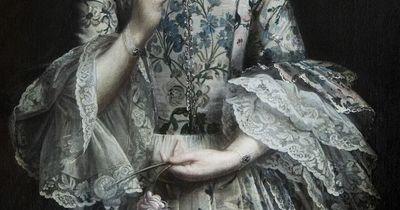 detailsofpaintings: Sir Joshua Reynolds, Anne Molesworth (detail) 1755