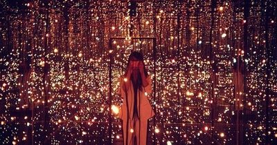 Fireflies on the Water by Yayoi Kusama at The Whitney Museum in NYC