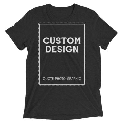 Personalized Men's Triblend Short Sleeve T-Shirt $26.00