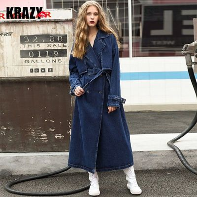 Slimming Curvy Double Breasted Cotton Cowboy Overcoat Coat - Bonny YZOZO Boutique Store