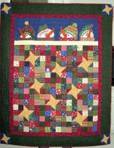 Pattern Under The Stars By The Rabbit Factory Quilting