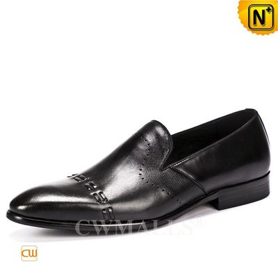 Men Leather Shoes | CWMALLS® Montreal Leather Dress Loafers CW719027 [Global Free Shipping]