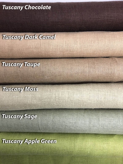 """Relaxed Roman Shades """"Tuscany Oyster with Taupe Border"""", 100% linen roman shade with chain mechanism, custom shades, window treatments $300.00"""