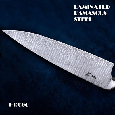 Chef knife Professional Kitchen Knives Leather Scabbard Wood Handle Outdoor Home Tools $316.70