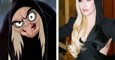 Gaga as Evil Hag (Mouse on the Mind)
