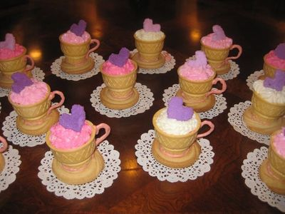 Tea Cups For Party Birthday Theme EUR Childrens Cakes Made From