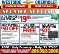 Discount on Car Services at Houston