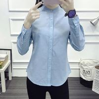 Casual Cotton Office Shirt Womens Blouse,NEW,on Sale! More Info:https://cheapsalemarket.com/product/casual-cotton-office-shirt-womens-blouse/