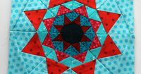 Paper Piecing Monday #6 - Block by Wombat Quilts