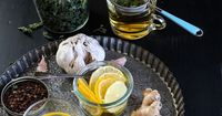 Simple, natural kitchen cures for a cold || Simple Bites #tip