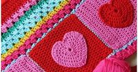 hearts and colors