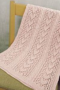 The pretty lace pattern looks like hearts if you look at it one way. Turn it�€�