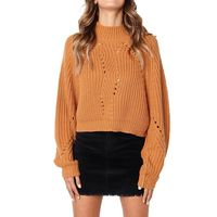 Price: $37.18 | Product: Women Winter Fashion Long Sleeve Knitted Solid Tops Loose Sweater Blouse | Visit our online store https://ladiesgents.ca