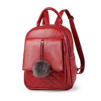 Women Casual Travel Backpack Soft PU Leather $47.39