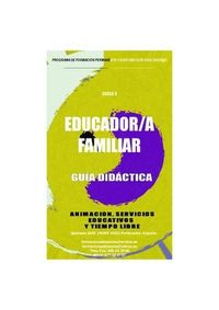 Guia Didactica curso Educadora Familiar a distancia