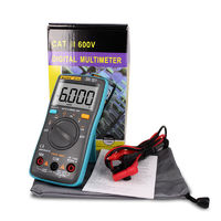 ZT101 Digital Multimeter Backlight AC/DC Ammeter 6000 counts AC/DC Ammeter Voltmeter Ohm Portable Meter voltage meter