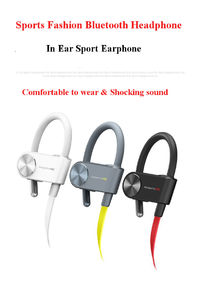 K&C Stereo Noise Reduction Earphone Waterproof And Sweatproof Sport Bluetooth Headset