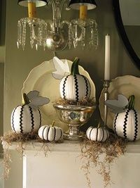country chic pumpkins